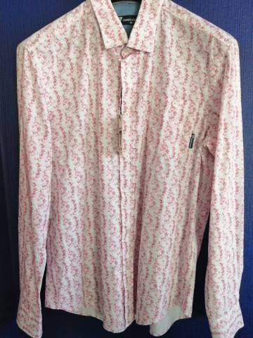 CHEMISE ML CAMBE PINK